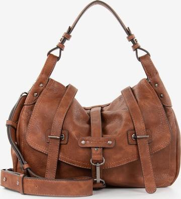 TAMARIS Handbag 'Bernadette' in Brown