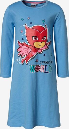 PJ Masks Nachthemd in rauchblau / kirschrot, Produktansicht