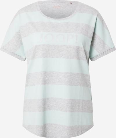 JOOP! Bodywear Majica za spanje | pegasto siva / meta barva, Prikaz izdelka