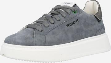 Sneaker low 'SNIK MORNING FOG' de la WOMSH pe gri