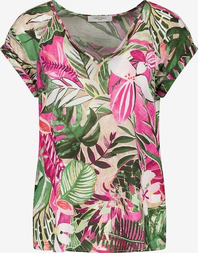 GERRY WEBER Blouse in de kleur Beige / Groen / Lila / Pink / Wit, Productweergave