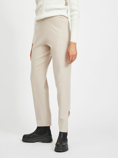 VILA Pantalón 'VIELASTA' en piel, Vista del modelo