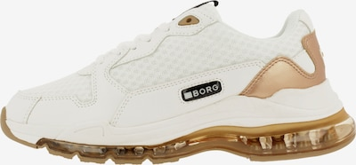 BJÖRN BORG Sneakers laag 'X500 MSH' in de kleur Goud / Wit, Productweergave