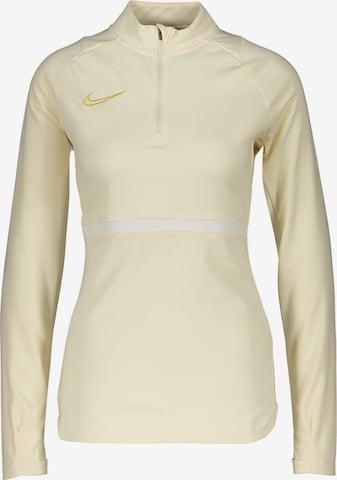 NIKE Athletic Sweatshirt in Beige