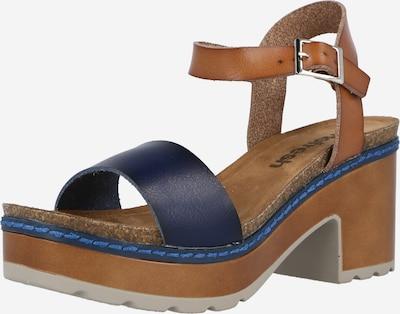 Sandale cu baretă Refresh pe bleumarin / maro deschis, Vizualizare produs