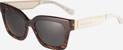 Michael Kors Sonnenbrille '0MK2102' in rostbraun / dunkelbraun / gold / hellgrau, Produktansicht