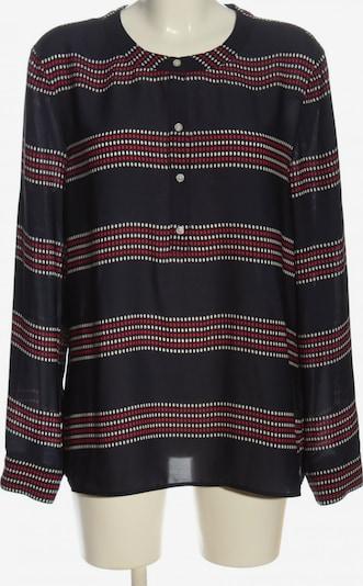 Banana Republic Transparenz-Bluse in XL in rot / schwarz / weiß, Produktansicht