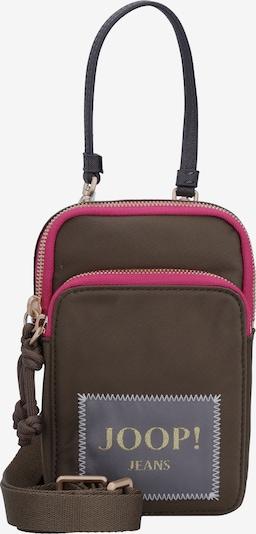 JOOP! Jeans Sac à bandoulière 'Colori Maria' en gris / kaki / rose, Vue avec produit