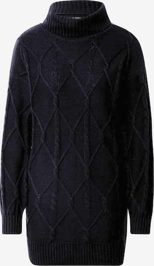 HOLLISTER Stickad klänning i svart, Produktvy