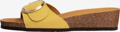 SCHOLL Pantolette 'ALMAFI MULE' in gelb, Produktansicht