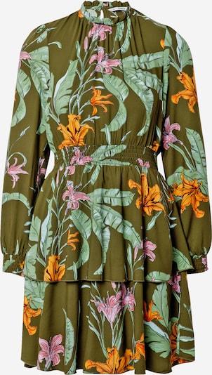 ONLY Sukienka 'PALM' w kolorze oliwkowy / pastelowy zielony / jasnofioletowy / pomarańczowy / jasnoróżowym, Podgląd produktu