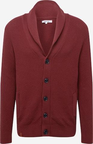 ABOUT YOU Плетена жилетка 'Davin' в червено