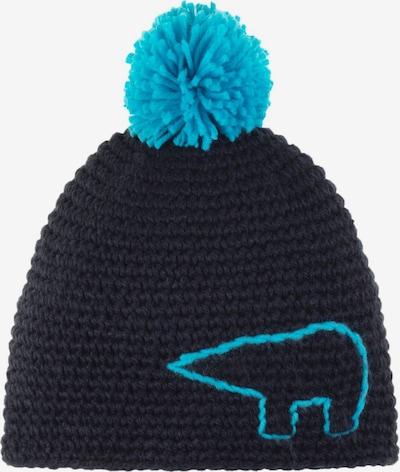Eisbär Kindermütze in blau, Produktansicht