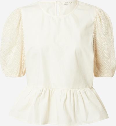 ONLY Блуза в кремаво: Изглед отпред
