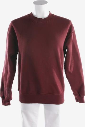 Victoria Beckham Sweatshirt in XS in weinrot, Produktansicht