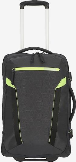 American Tourister Reisetasche 'Eco  Spin' in grau / neongrün / schwarz, Produktansicht