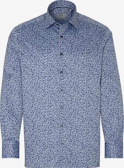 ETERNA Langarm Hemd COMFORT FIT in blau / weiß, Produktansicht