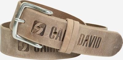 CAMP DAVID Gürtel in beige, Produktansicht