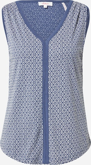 s.Oliver Top in Blue / White, Item view