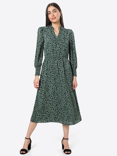 ONLY Kleid 'JENNA' in grün / schwarz, Modelansicht