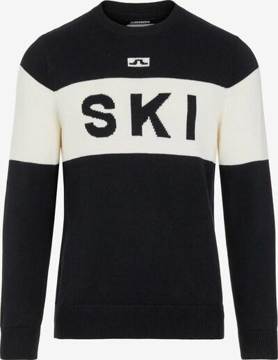 J.Lindeberg Sporttrui 'Ken' in de kleur Zwart / Wit, Productweergave