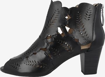 Sandales ' Lotta 21 ' GERRY WEBER en noir