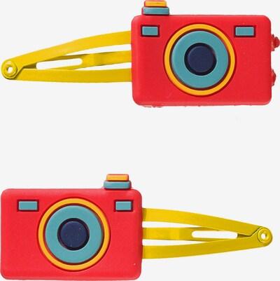 Boboli Haarspagen in gelb / rot, Produktansicht