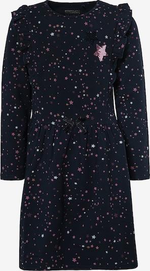 STACCATO Kleid in nachtblau / pink / weiß, Produktansicht