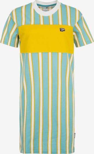PUMA Sportjurk 'Downtown Stripe' in de kleur Geel / Mintgroen / Wit, Productweergave