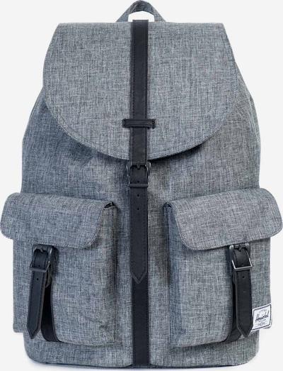 Herschel Rucksack 'Dawson' in graumeliert / schwarz, Produktansicht