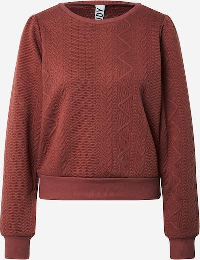 JDY Sweatshirt 'COPPER' in Rusty red, Item view