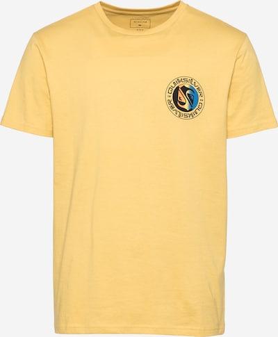 QUIKSILVER Tričko 'MELLOW PHONIC' - královská modrá / žlutá / jasně oranžová / černá, Produkt