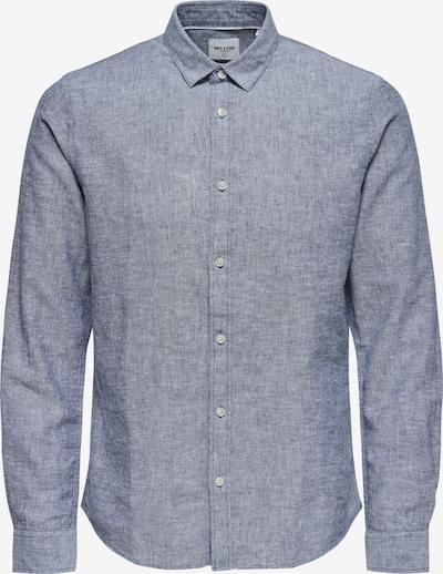 Only & Sons Hemd 'Caiden' in blau, Produktansicht