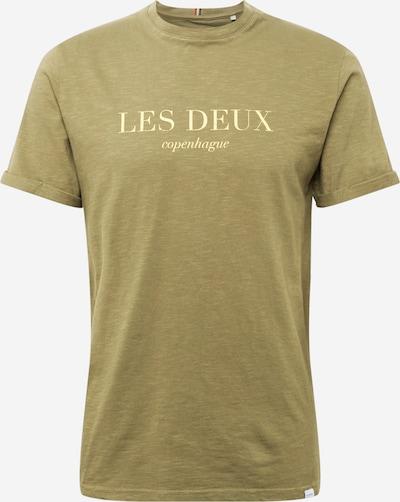 Les Deux Тениска 'Amalfi' в Каки / зелен меланж: Изглед отпред