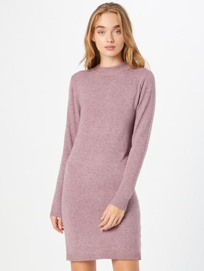 OBJECT Pletené šaty 'THESS' - fialová, Model/-ka