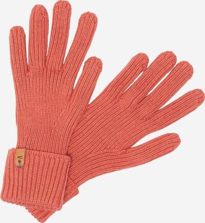 CAMEL ACTIVE Strickhandschuhe aus Baumwolle in rot, Produktansicht