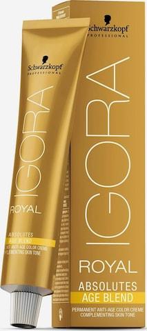Schwarzkopf Professional Hair Dyes 'Igora Royal Absolutes Permanent Anti-Age Color Creme' in Yellow