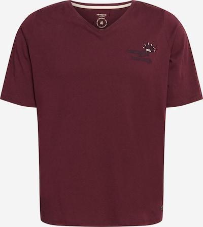 MY TRUE ME T-Shirt in weinrot, Produktansicht