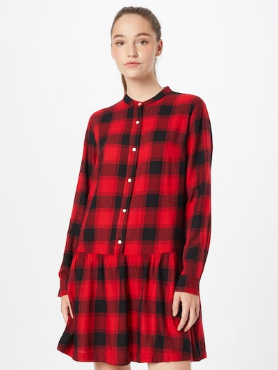 Rochie tip bluză GAP pe roșu / negru, Vizualizare model