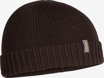 ICEBREAKER Athletic Hat 'Vela Cuff' in Black