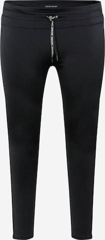 Esprit Sport Curvy Sportsbukser 'PER' i svart
