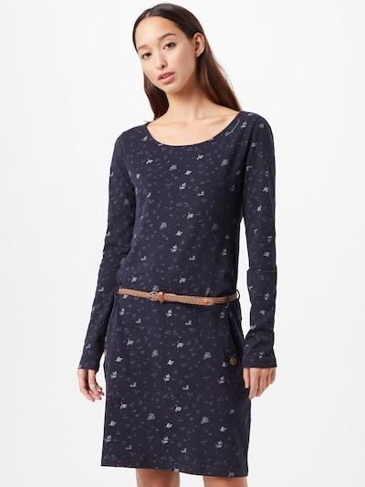 Ragwear Kleid 'Talona' in nachtblau / hellblau / hellbraun / pastellpink, Modelansicht