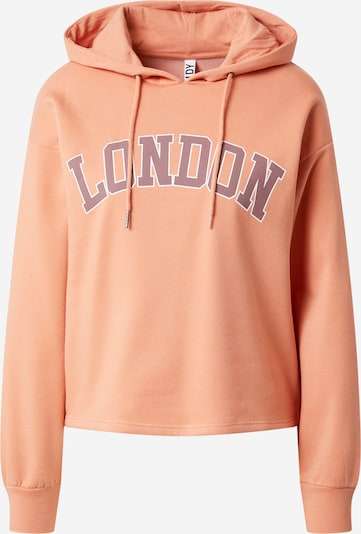 JDY Sweatshirt 'NAJA' in Brown / Light orange / White, Item view