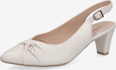 CAPRICE Slingpumps in offwhite, Produktansicht