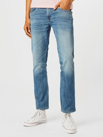 Pepe Jeans Jean 'CASH' en bleu denim, Vue avec modèle