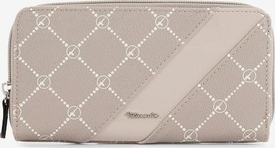 TAMARIS Geldbörse 'Anastasia' in taupe / weiß, Produktansicht