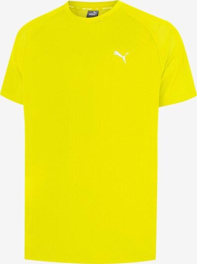 PUMA T-Shirt in neongelb, Produktansicht