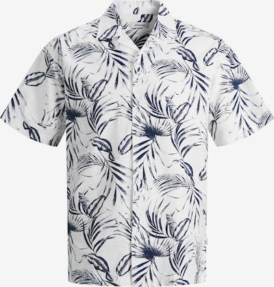 JACK & JONES Košeľa 'Mike' - námornícka modrá / biela, Produkt