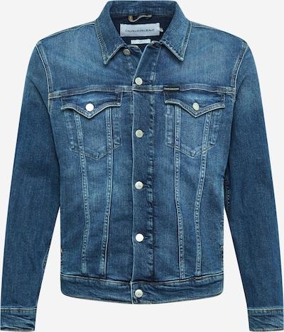 Calvin Klein Jeans Tussenjas 'Foundation' in de kleur Blauw denim, Productweergave