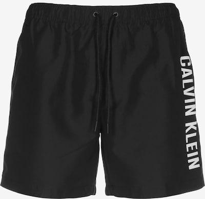 Calvin Klein Plavecké šortky - černá / bílá, Produkt